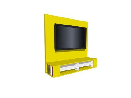 Zelfbouw tv-meubel Penelope