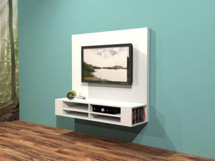 Zelfbouw hangend tv-meubel penelope