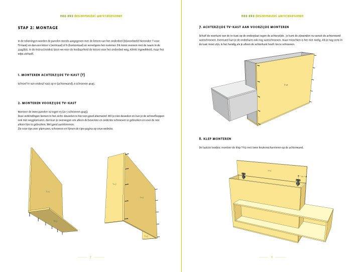 TV-meubel Astor zelf maken: modern meubel met liftmechaniek!