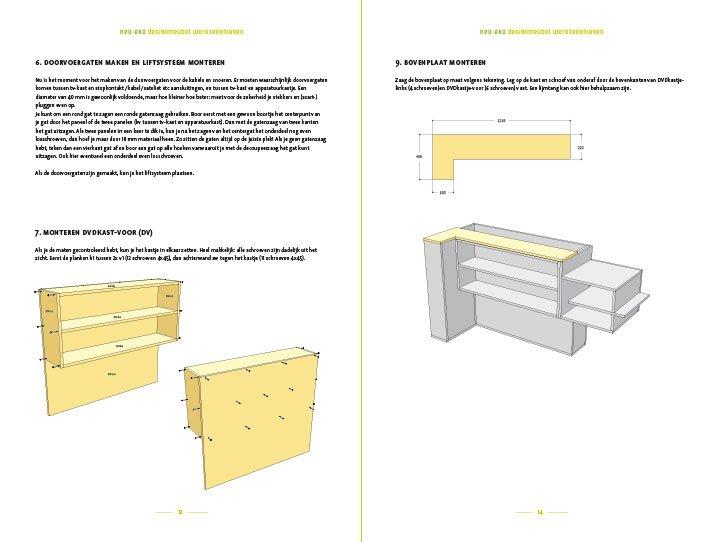 preview Zelfbouw TV meubel met lift Javier