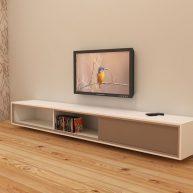 Hangend TV meubel zelf maken ArturoXL