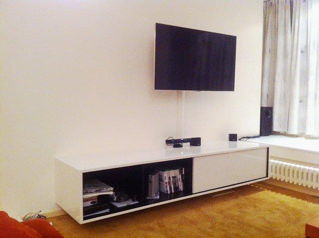 Keuken Zelf Maken Mdf : Zelf Keuken Bouwen Mdf : Werktekening TV meubel, hangend, zelf maken