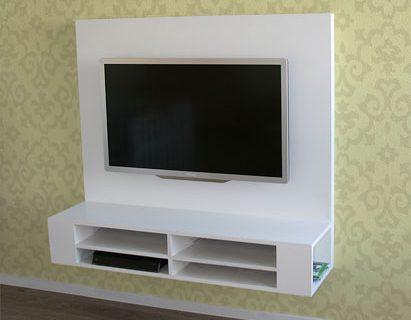 Zwevend tv meubel Penelope zelf maken met werktekening door Mike