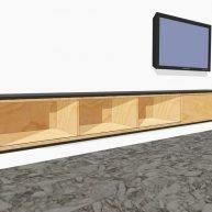 zwevend hangend TV meubel arturo XL zelf bouwen