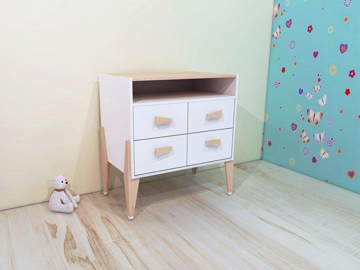 Kinderkamer Meubels : kinderkamer meubels zelf maken commode kast ...
