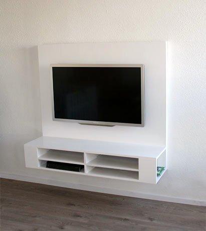 Home Portfolio Zwevend TV-meubel Penelope gemaakt door…