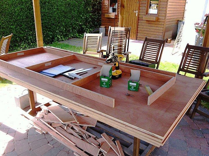 Tafel maken maak zelf je tafel alle aspecten handige for Zelf een tuintafel maken