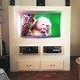 TV meubel Antonio zelf gemaakt door Irma met onze werktekening voor zelfbouw