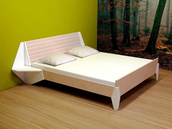 Bed maken maak zelf je bed for Bed van steigerhout maken