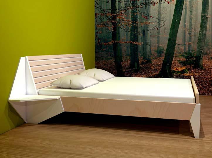 Gratis bouwtekening met handleiding voor nachtkastje bijzettafel pilar - Nachtkastje voor loftbed ...