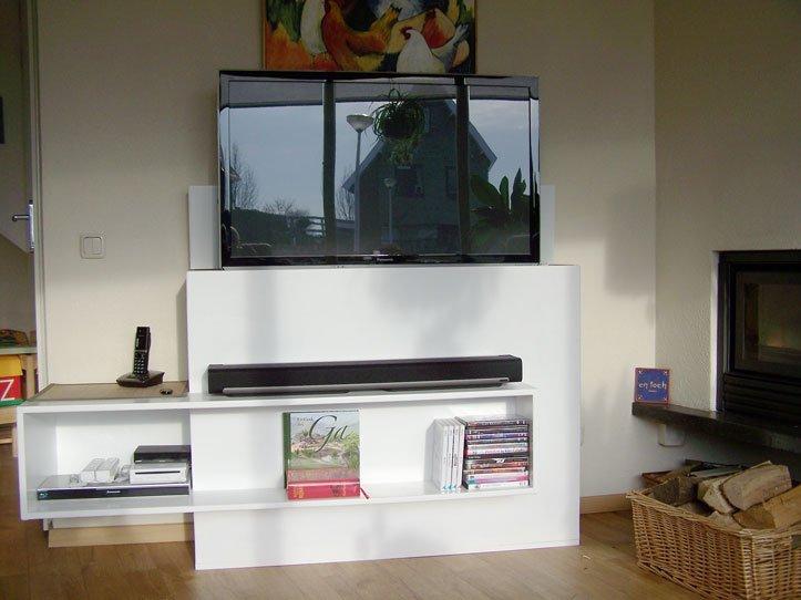 het was leuk om de tv kast te bouwen wieger tv meubel is gemaakt de ...