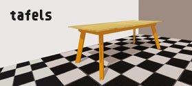 tafel eettafel zelf maken bouwen tekening handleiding