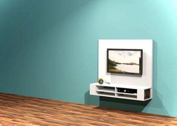 tv televisie meubel kast hangend zelf maken bouwen tekening handleiding instructie plan