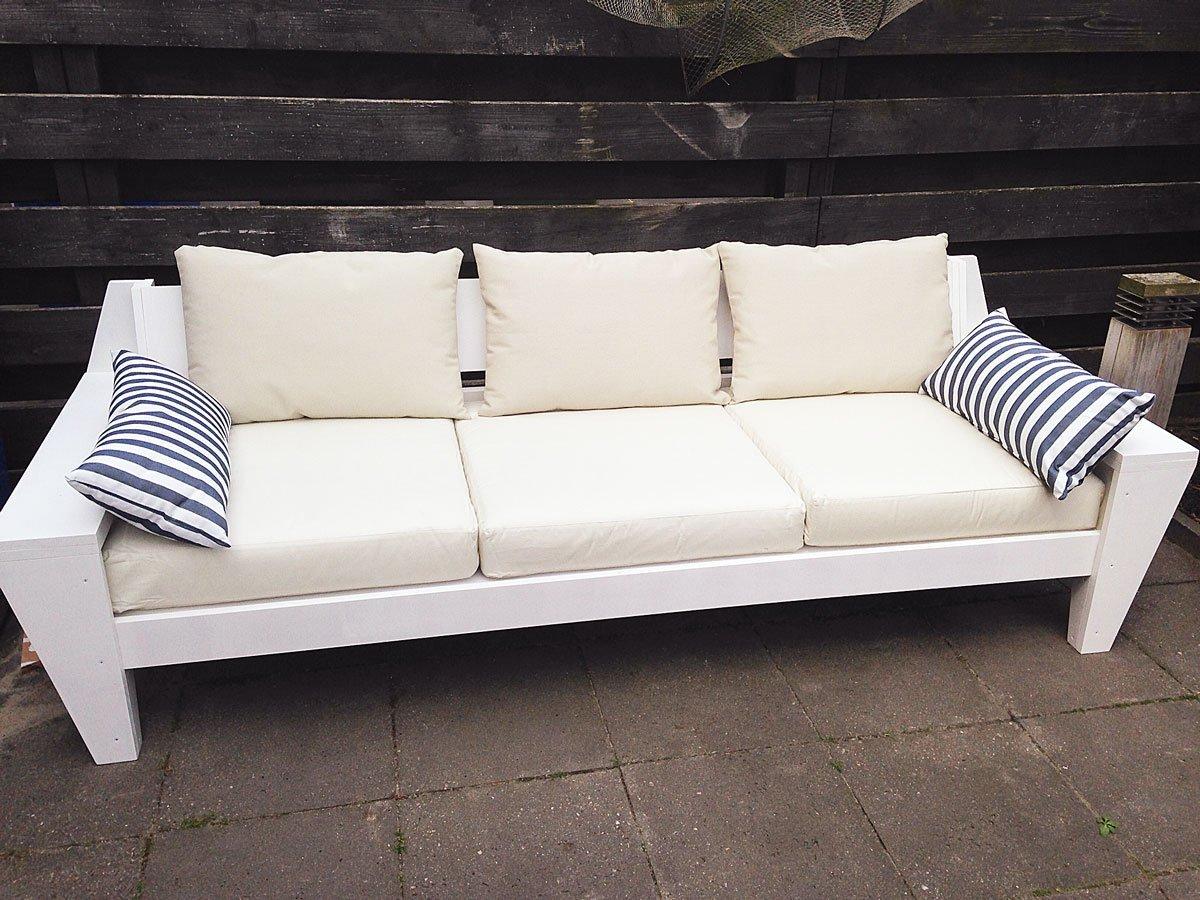 loungebank maken werktekening met handleiding. Black Bedroom Furniture Sets. Home Design Ideas
