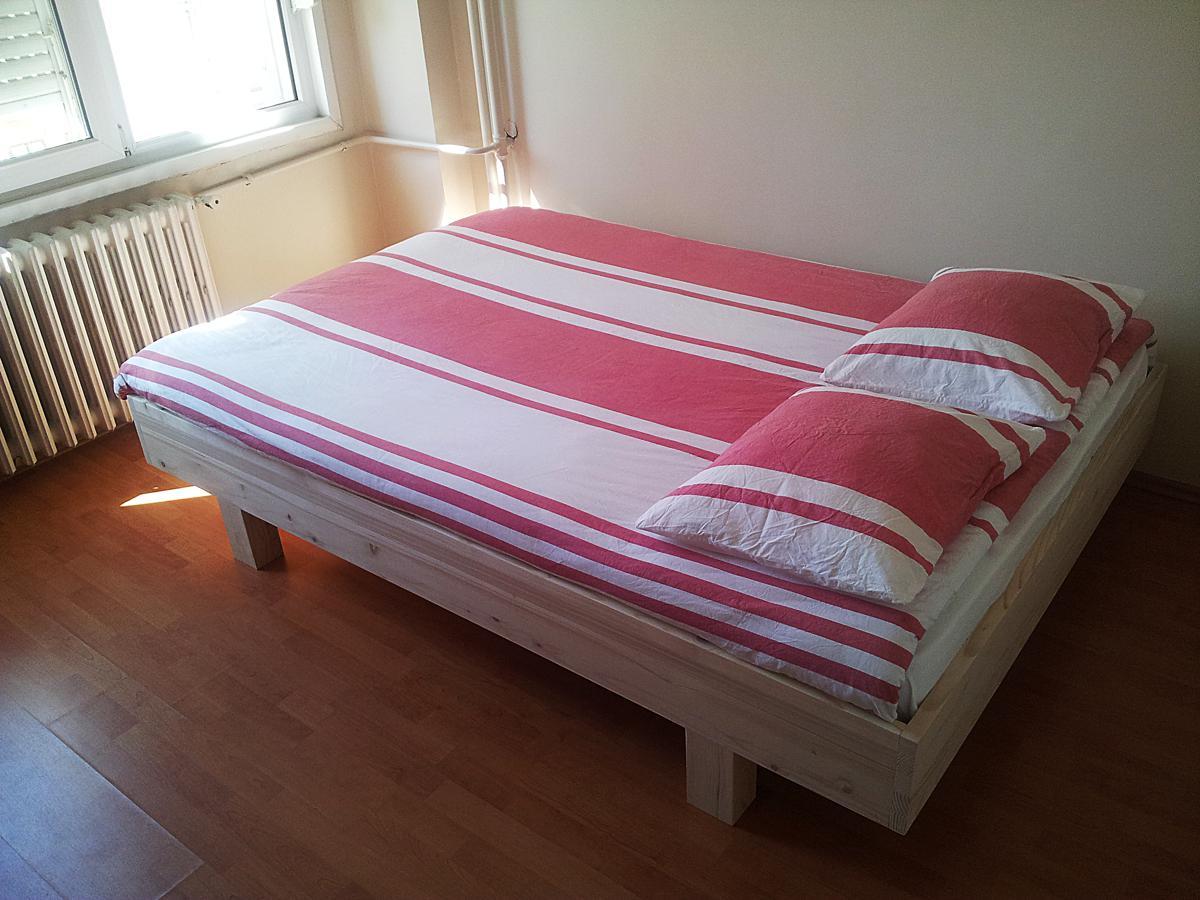 Bouwtekening bed, tweepersoonsbed zelf maken