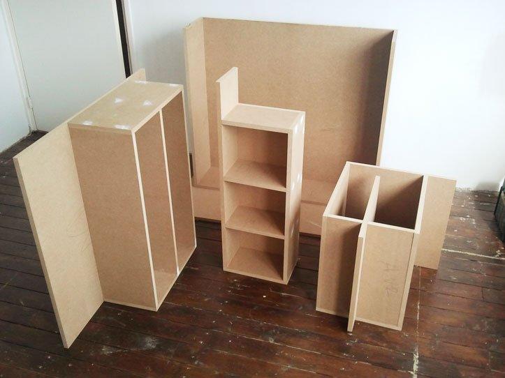 TV meubel Javier zelf maken Coen -3