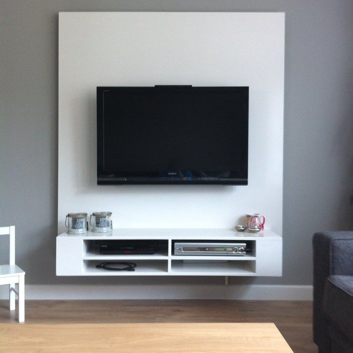 Tv meubel maken tips - Moderne tv wand ...