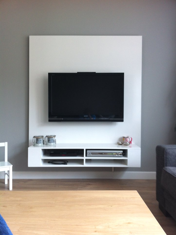 Hangende Tv Kast.Tv Meubel Maken Tips