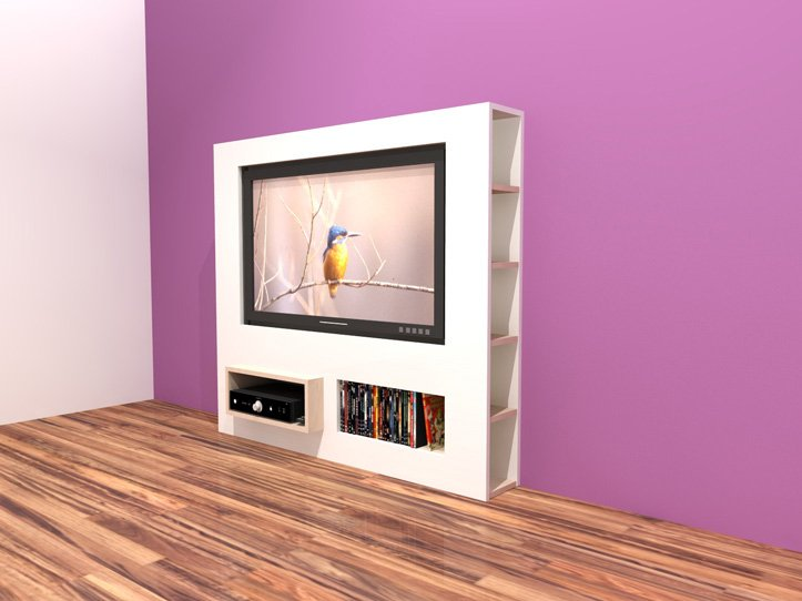 Kast Tv Kast.Furniture Plan Diy Modern Tv Stand For Plywood Or Mdf