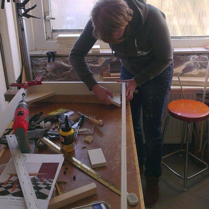 Zelfbouw tafel Teruel: maken