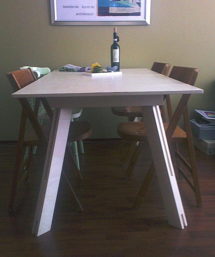 Zelfbouw tafel Teruel