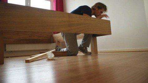 Zelfbouw tweepersoonsbed-Azobe-Arvid