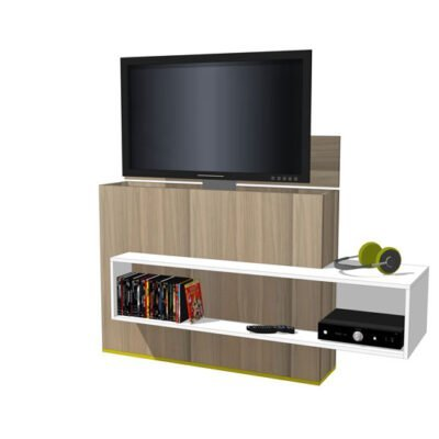 Iets Nieuws TV-meubel met lift zelf maken in hout of mdf - bouwtekeningen OG44
