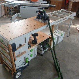 mobiele werkbank van benchworks