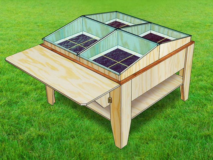 Minibieb zelf maken bouwtekening bibliotheekkastje for Bouwtekening tafel