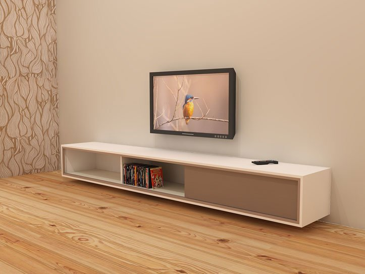 Tv Meubel Hangend.Diy Furniture Plan Floating Tv Cabinet Arturo For Plywood Or Mdf