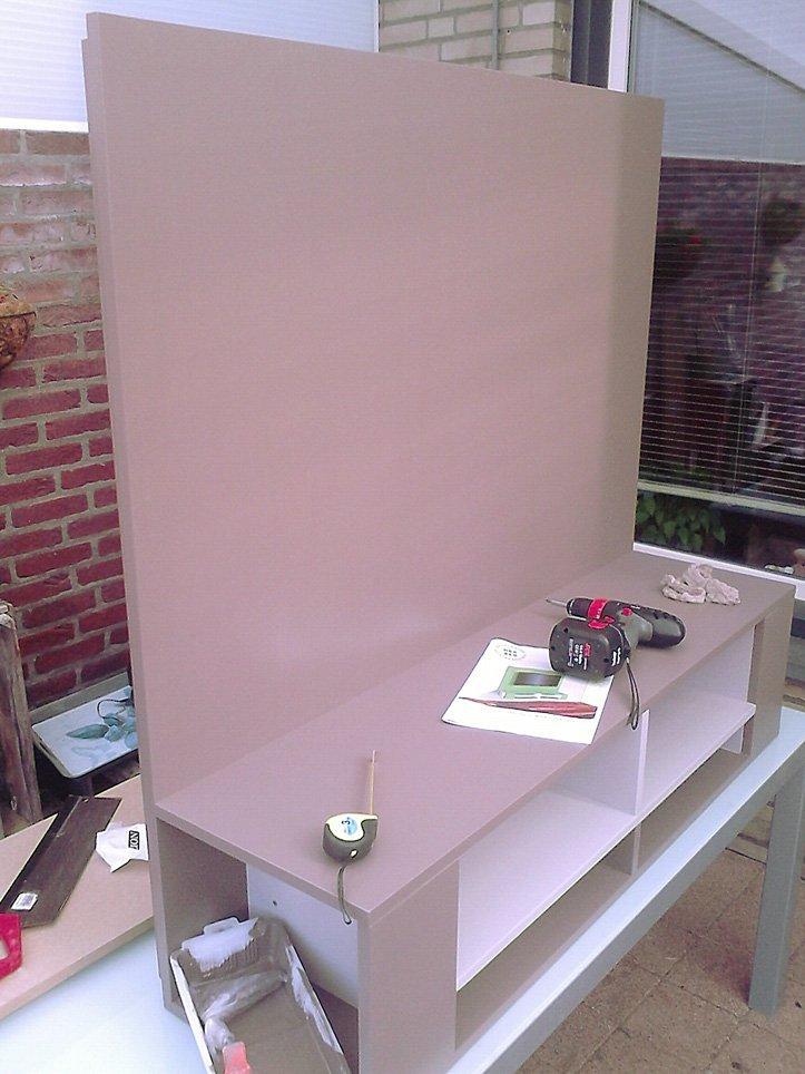 TV meubel Penelope gemaakt door Frank