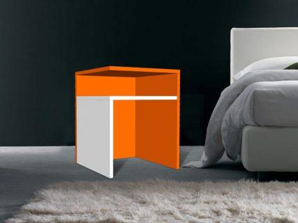 Impressie Bouwtekening Bijzettafel | nachtkastje Pilar zelf maken