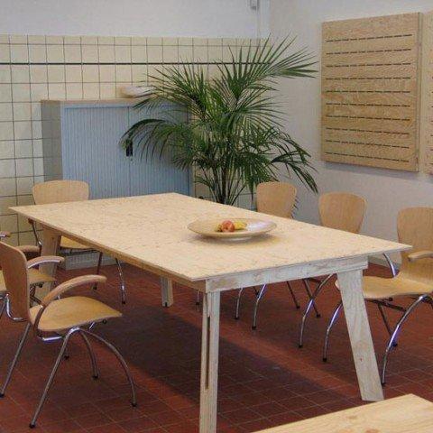 Zelfbouw tafel Teruel maken