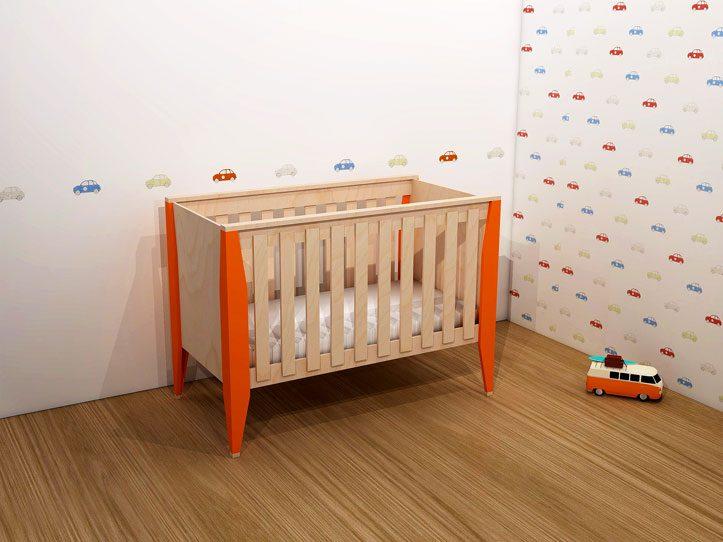 Verrassend Kinderbed | ledikant zelf maken: Bouwtekening Leon IZ-25