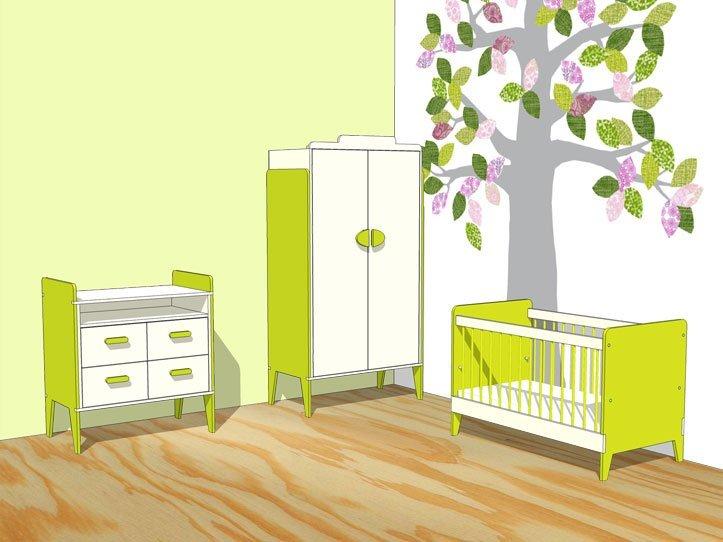 kinderkamer meubels zelf maken met meubelwerktekening