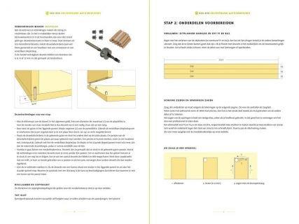 tuinset | tuintafel Cadi bouwtekening