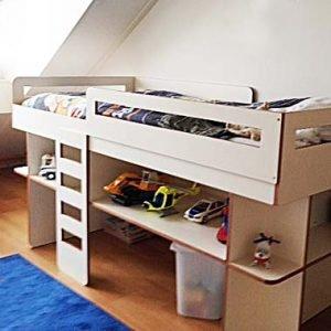 half hoogslaper zelf bouwen met werktekening door Pieter