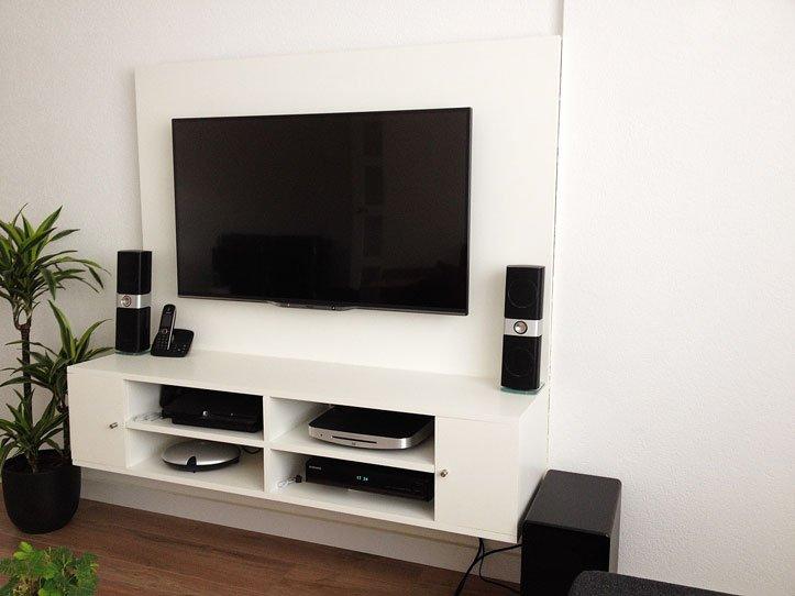 Dichte Tv Kast : Zwevend tv meubel penelope gemaakt door sebastiaan