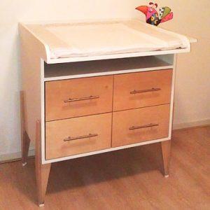 kinderkamer commode zelf maken met meubelwerktekening door I.B.