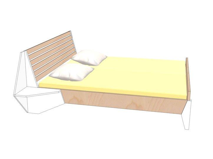 Zelf maken 2P bed hayeda 03