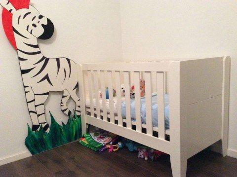 Zelfbouw Ledikant Kinderbed door Egbert-