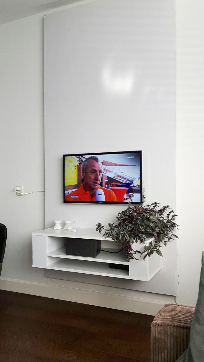 Tv Meubel Led.Zwevend Tv Meubel Penelope Zelf Gemaakt Door Wim
