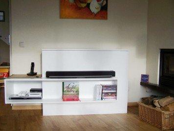TV-meubel met lift zelf maken door Wieger