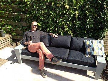 Loungebank Yelmo door Frank