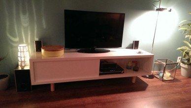 Zelfbouw tv meubel Arturo door Pieter