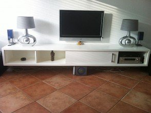 Zelf gemaakt tv-meubel ArturoXL door Ruud