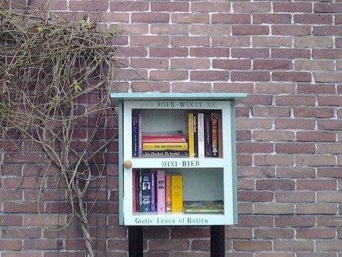 Minibieb Libros door Petra