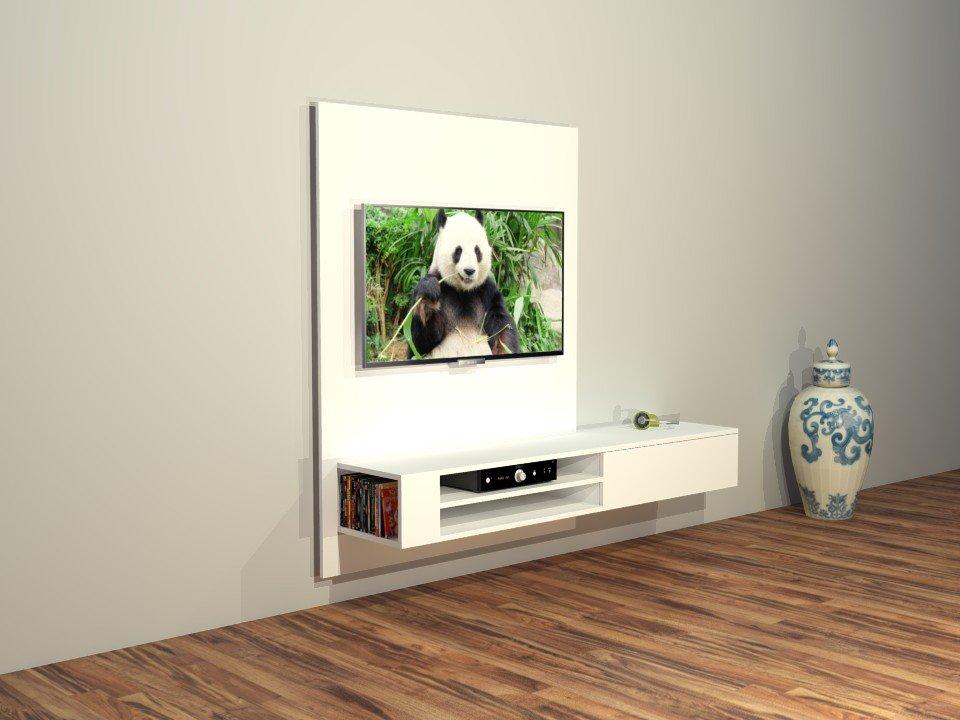 Bouwtekening Hangende Tv Kast Jordi