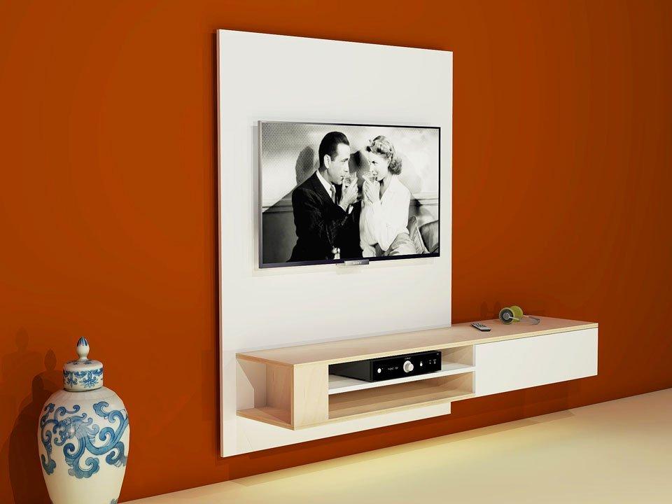 bouwtekening tv kast zelf een hangend tv meubel maken