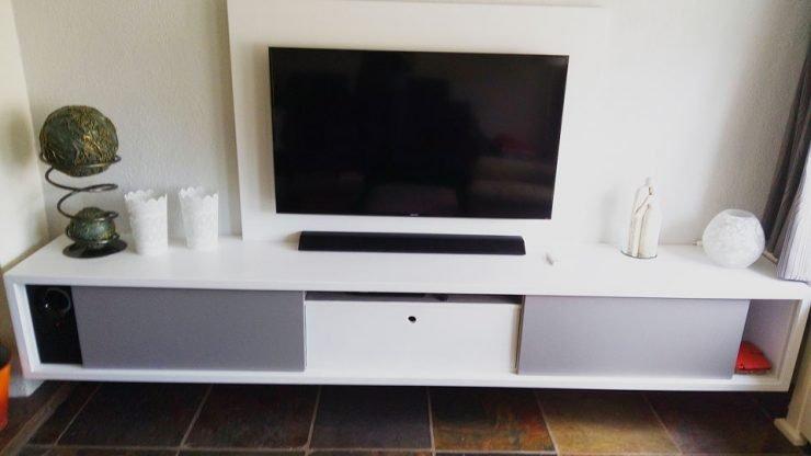 Doe het zelf tv-meubel ArturoXL door Ger